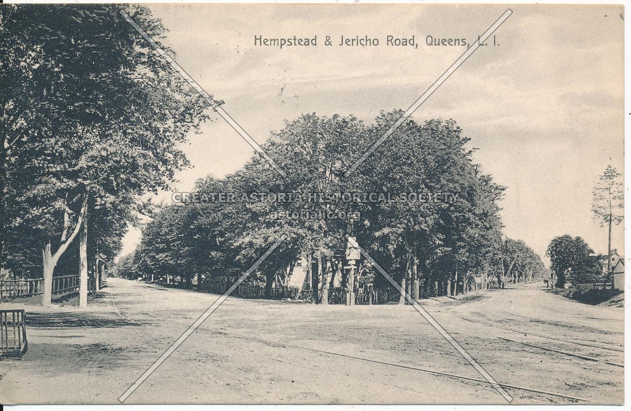 Jericho Turnpike & Hempstead Road (Jamaica and Hempstead Aves.), Queens, L.I.