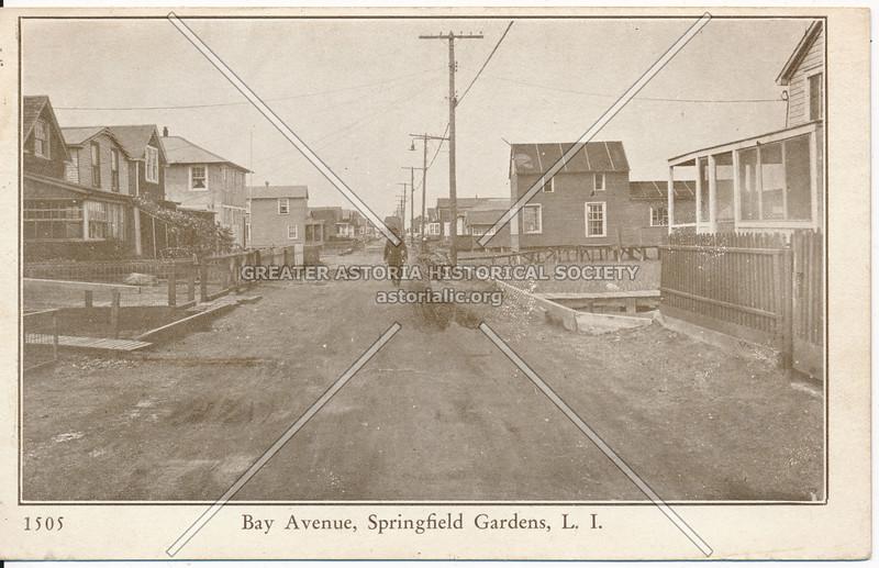 Bay Avenue, Springfield Gardens, L.I.