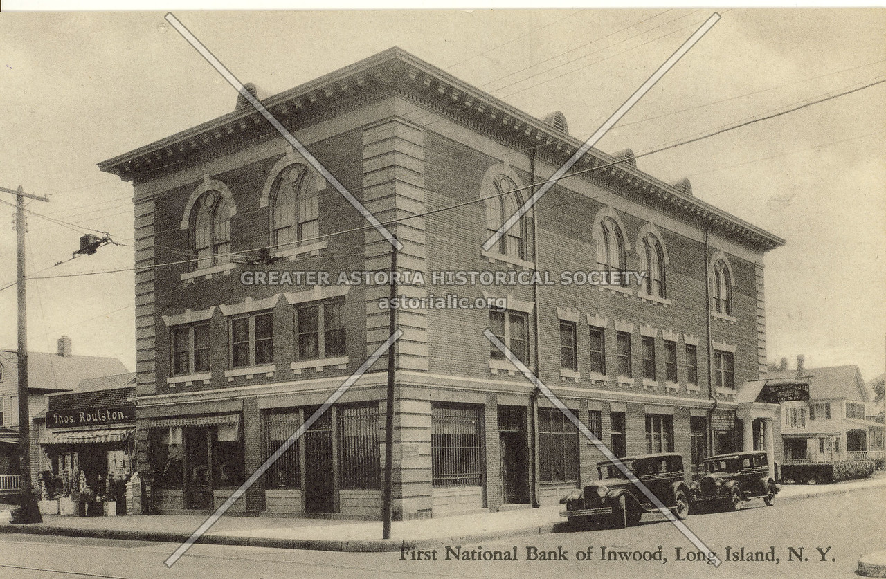 First National Bank of Inwood, Long Island, N.Y.