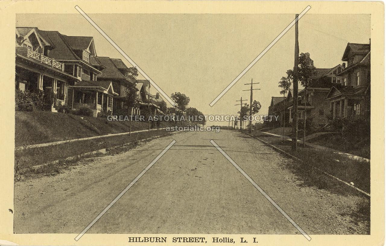 Hilburn Street, Hollis, L.I.