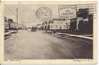 234th Street Laurelton, L.I., N.Y.