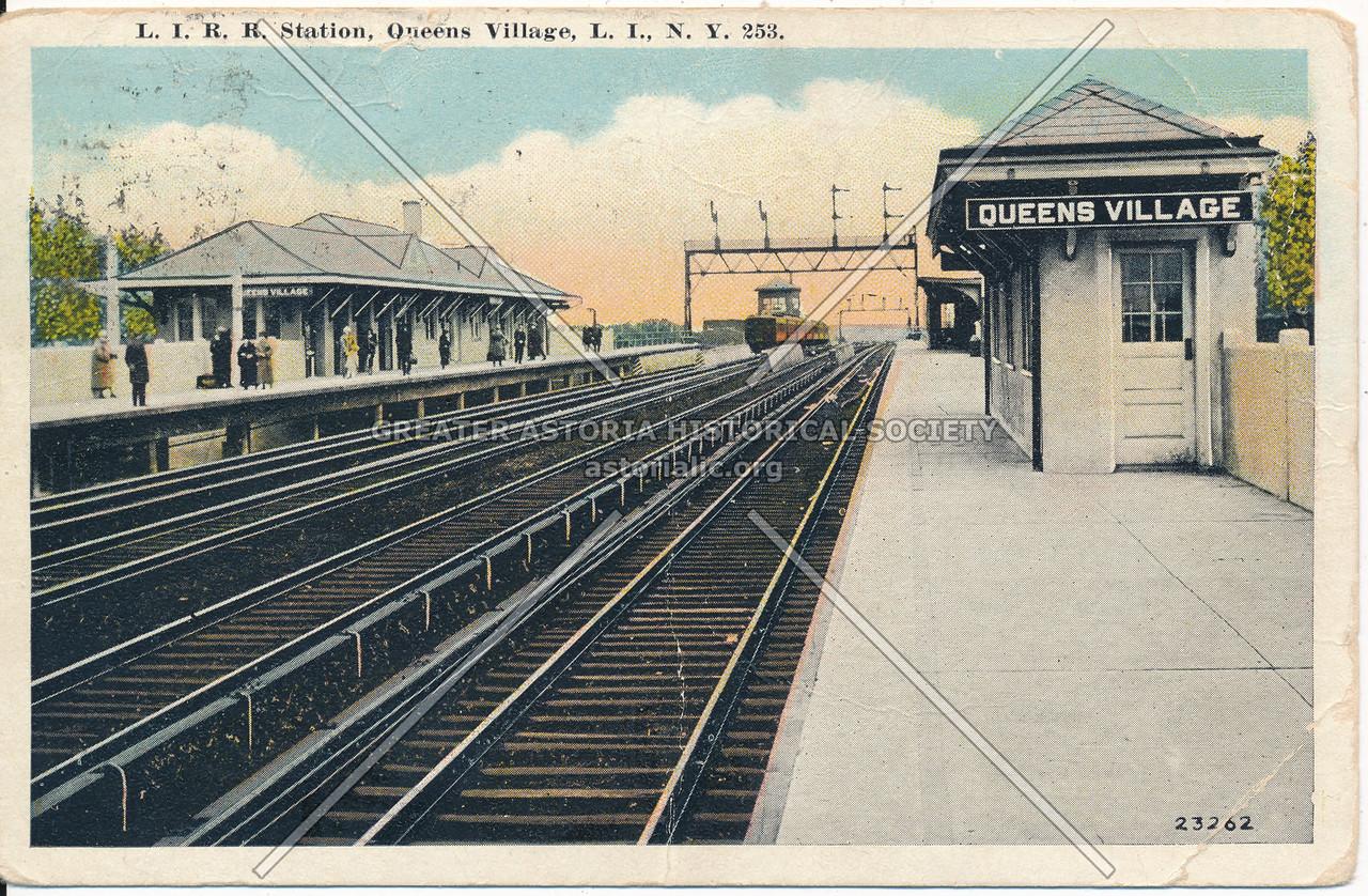 L.I.R.R Station, Queens Village, L.I., N.Y.
