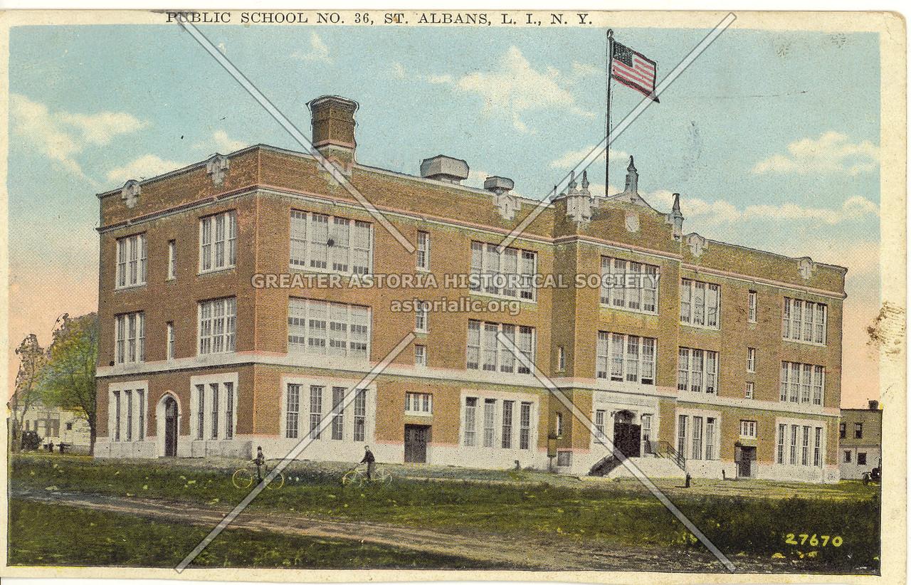 Public School No.36, St. Albans, L.I., N.Y.