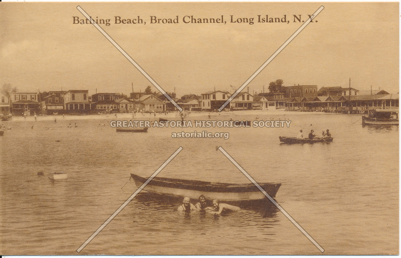 Bathing Beach, Broad Channel, Long Island, N.Y.