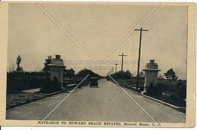 Entrance to Howard Beach Estates, Howard Beach, L.I.