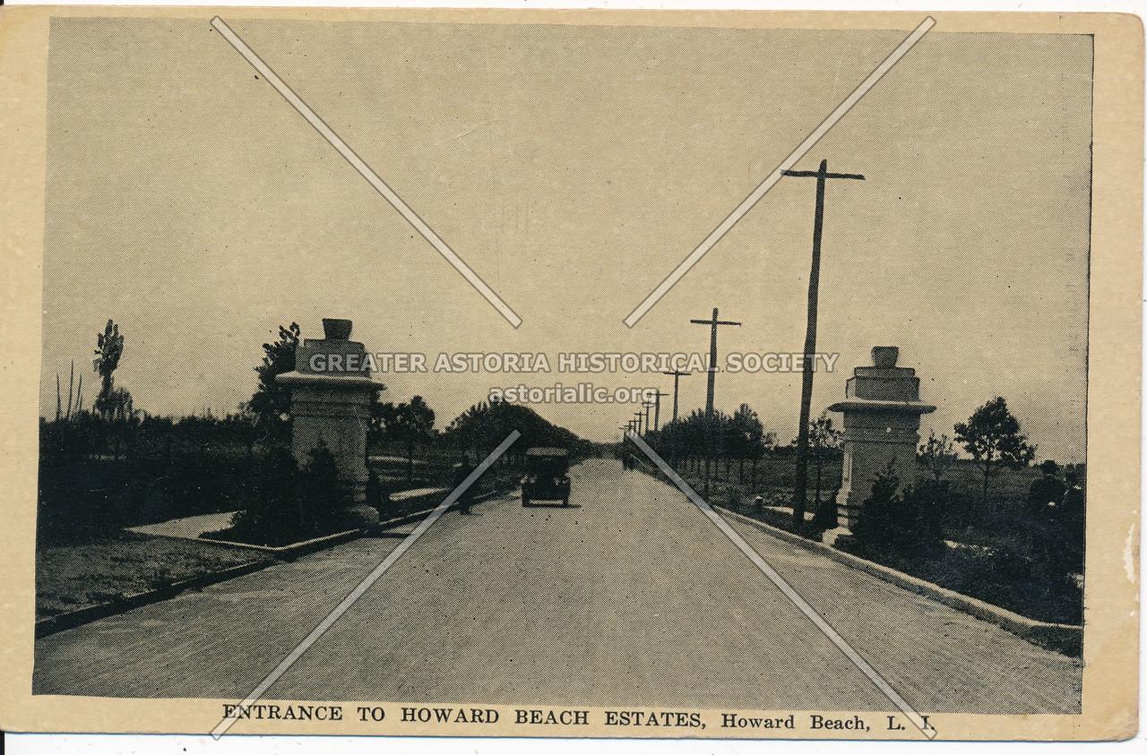 Entrance to Howard Beach Estates, Howard Beach, L.I.