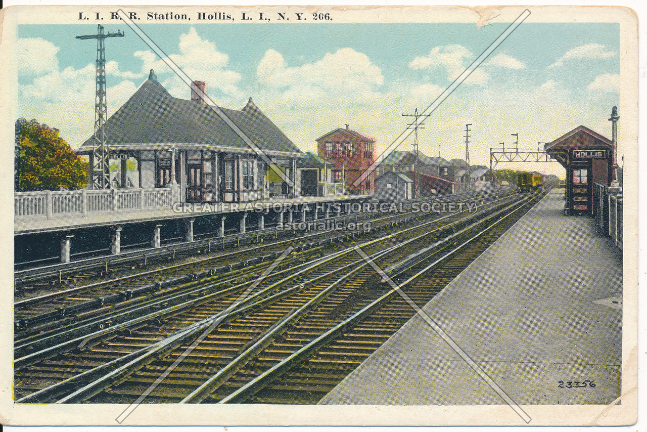 L.I.R.R. Station, Hollis, L.I., N.Y.