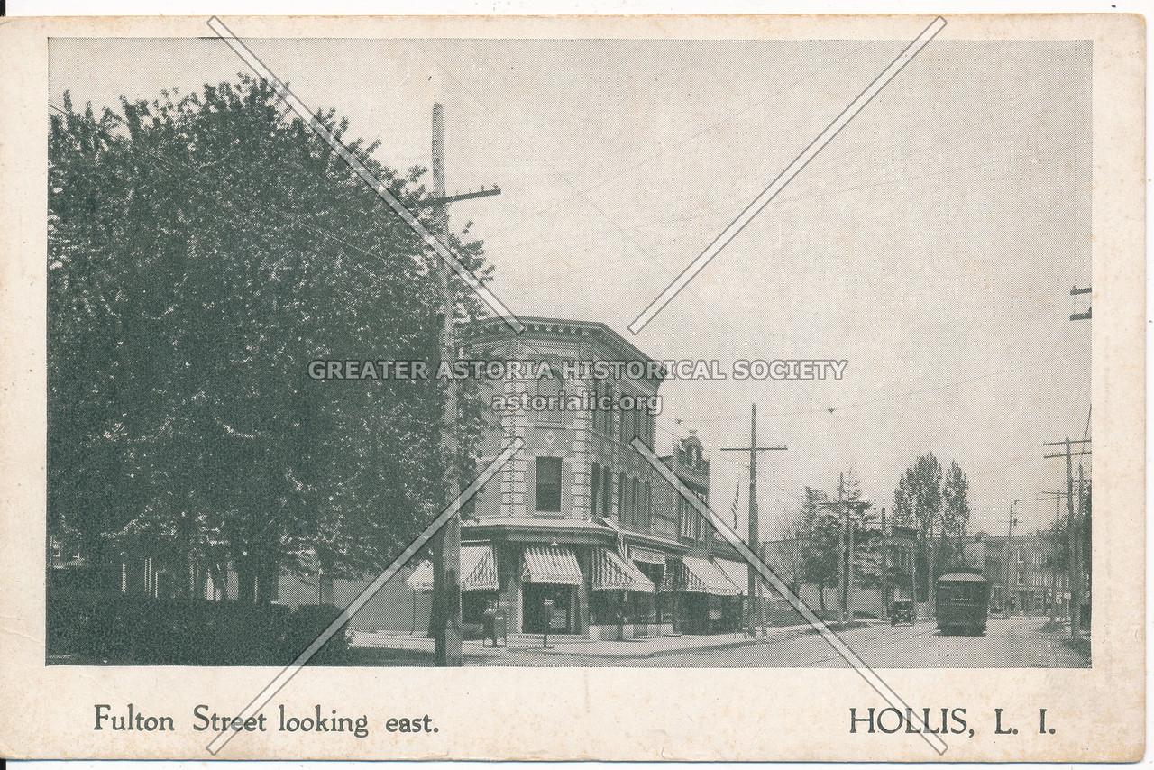 Fulton Street (Jamaica Ave) looking east Hollis L.I.