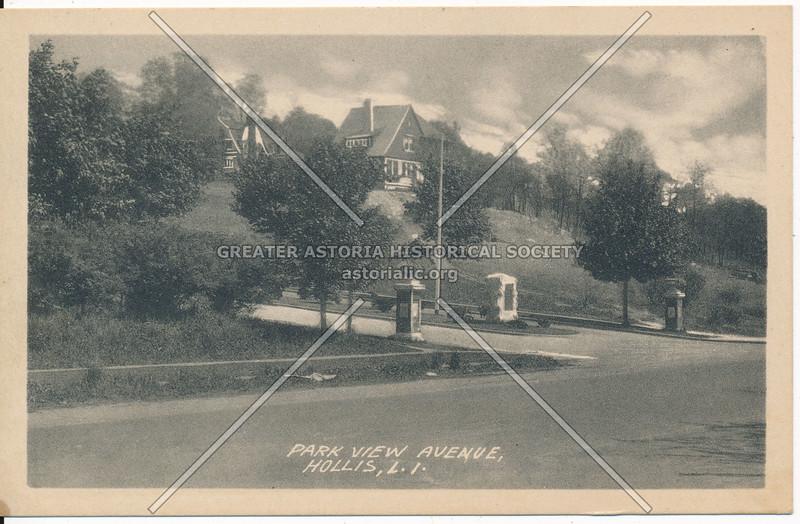 Park View Avenue (192 St), Hollis, L.I.