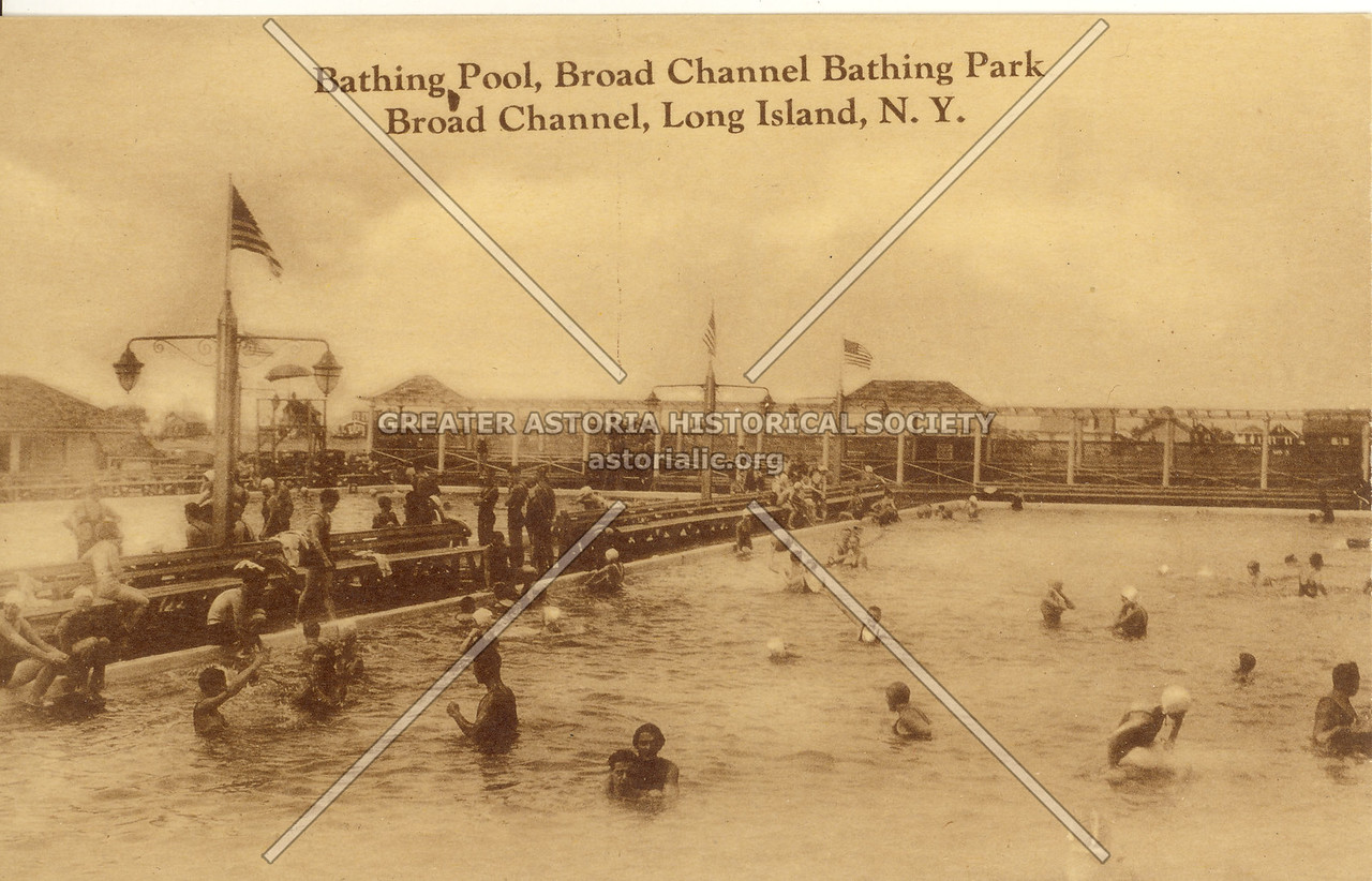 Bathing Pool, Broad Channel Bathing Park Broad Channel, Long Island, N.Y.