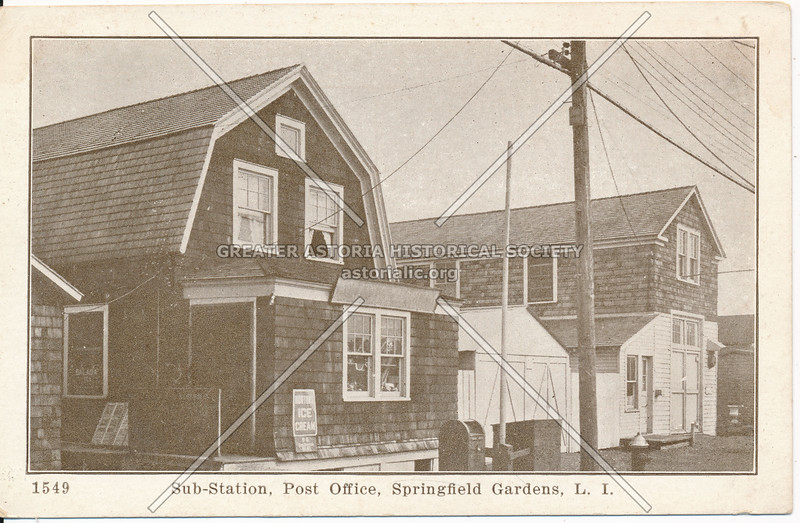Sub-Station, Post Office, Springfield Gardens, L.I.