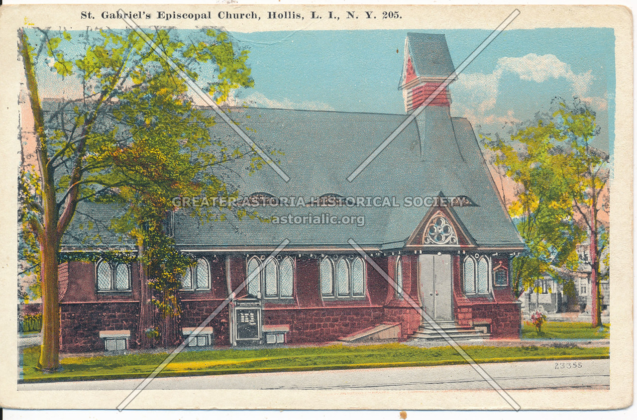 St. Gabriel's Episcopal Church, Hollis, L.I., N.Y.