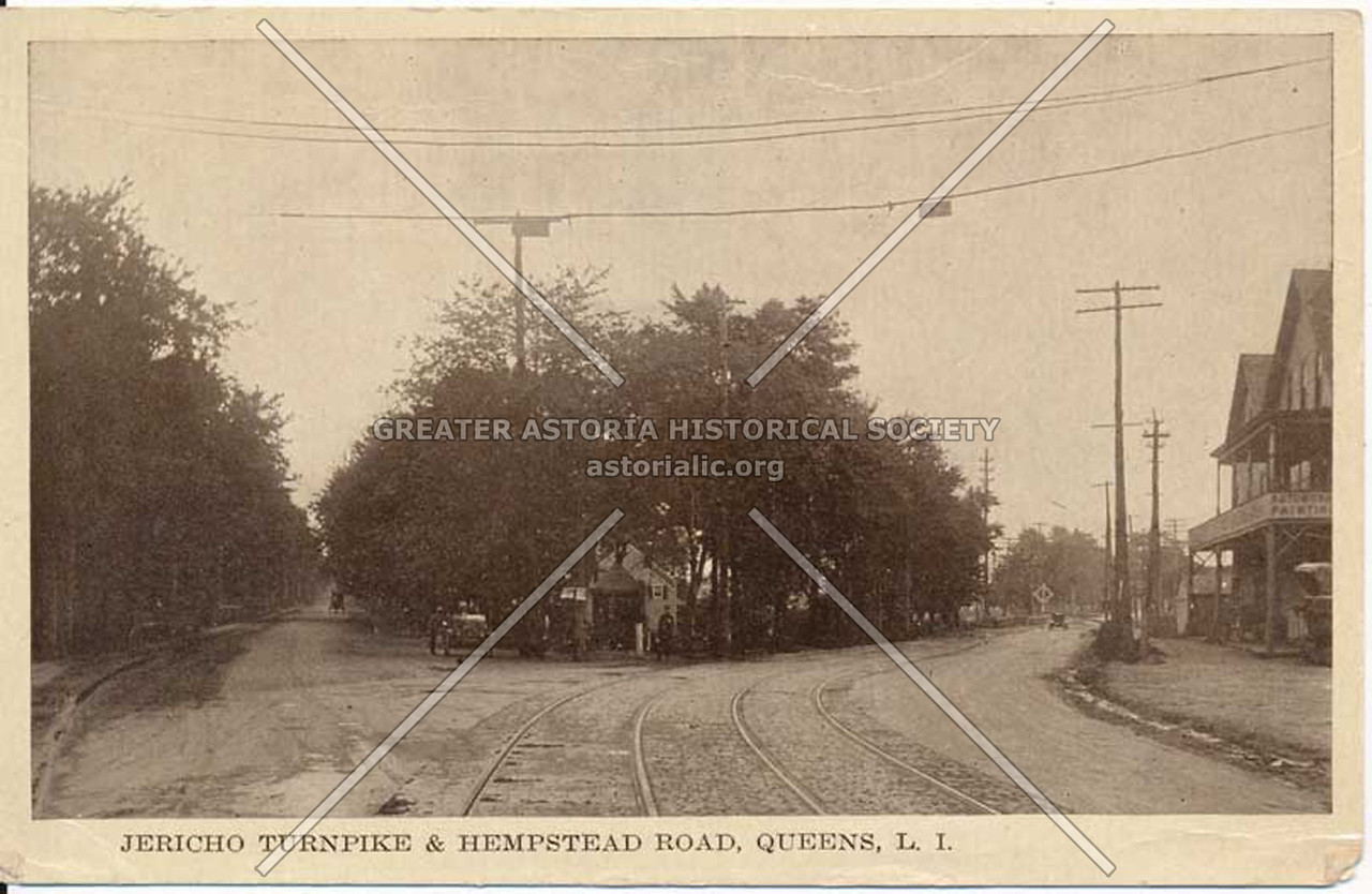Jericho Turnpike & Hempstead Road (Jamaica and Hempstead Aves.), Queens, L.I.