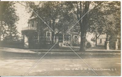 Res. of Mr. D.H. Boyles, Queens, L.I.