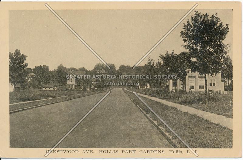 Crestwood Ave (195 Place)., Hollis Park Gardens, Hollis, L.I.