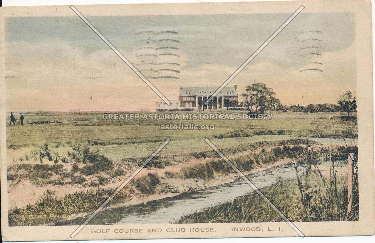Golf Course and Club House, Inwood, L.I.