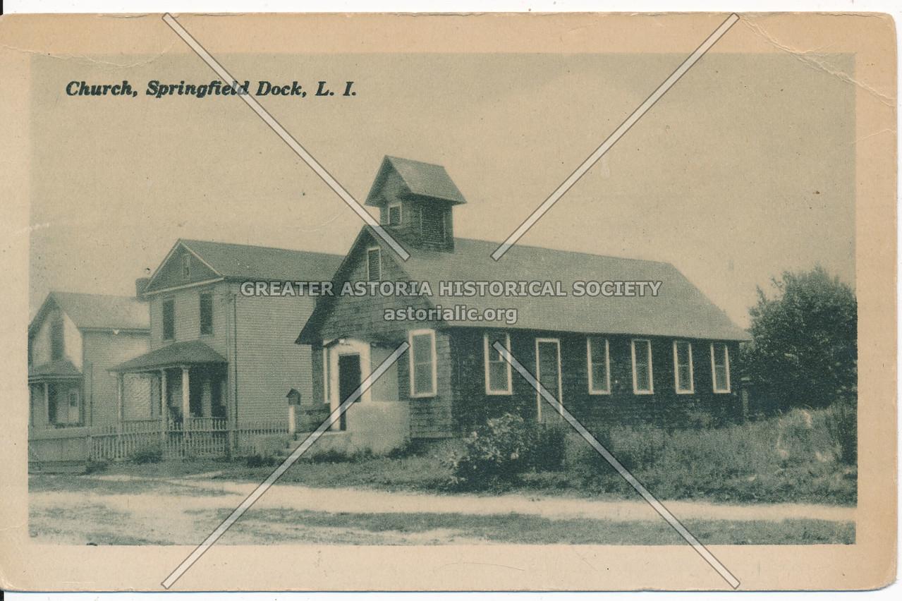 Church, Springfield Dock, L.I.