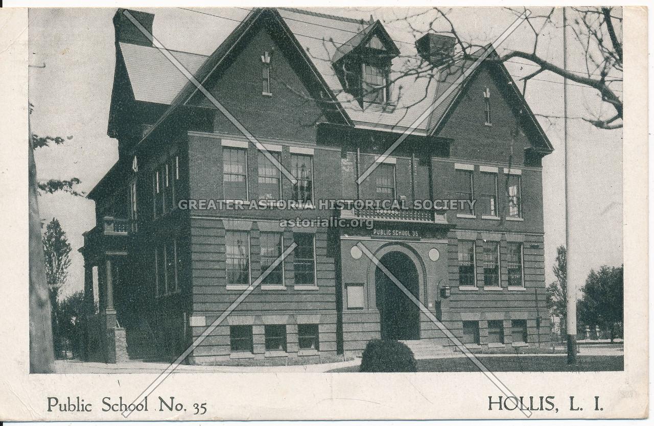 Public School No.35, Hollis, L.I.