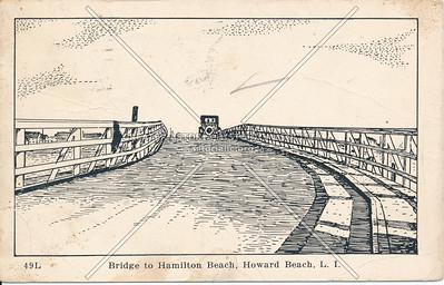 Bridge to Hamilton Beach, Howard Beach, L.I