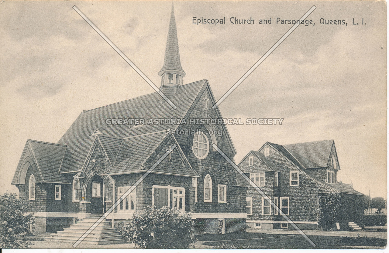 Episcopal Church and Parsonage, Queens, L.I.