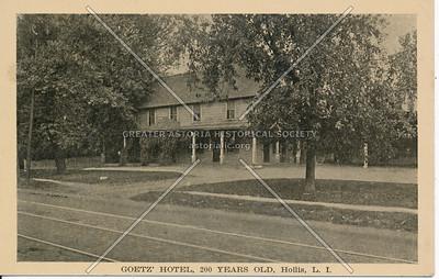 Goetz' Hotel, 200 Years Old, Hollis, L.I.