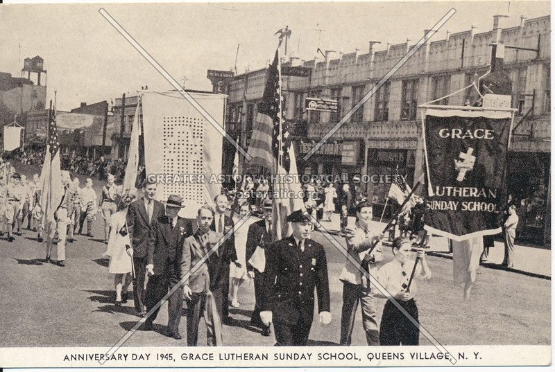 Anniversary Day 1945, Grace Lutheran Sunday School, Queens Village, N.Y.