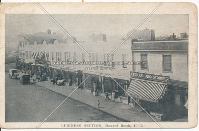 Business section, Howard Beach