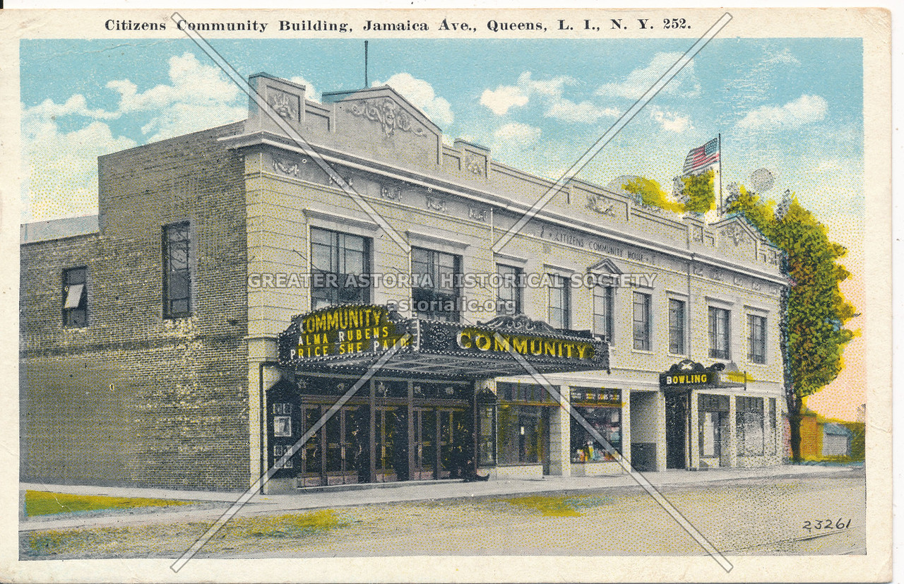 Citizens Community Building, Jamaica Ave., Queens, L.I., N.Y.