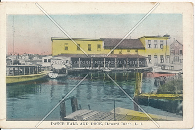 Dance Hall and Dock, Howard Beach, L.I.