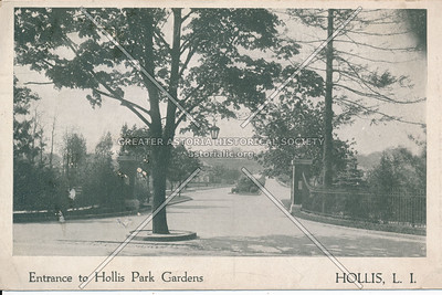 Entrance to Hollis Park Gardens Hollis, L.I.