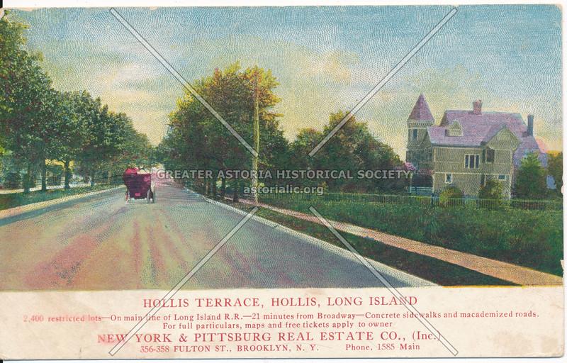Hollis Terrace, Hollis, Long Island