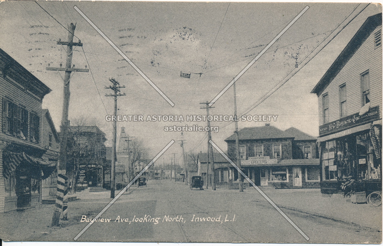 Bayview Ave., looking north, Inwood, L.I.
