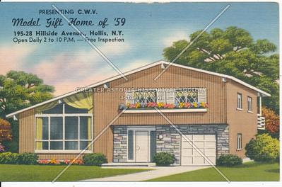 Presenting C.W.V. Model Gift Home of '59 195-28 Hillside Avenue., Hollis, N.Y.