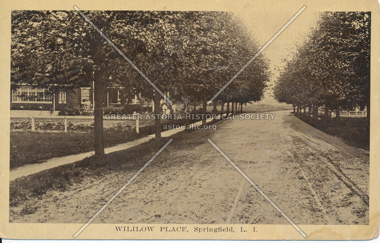 Willow Place (219 St), Springfield, L.I.