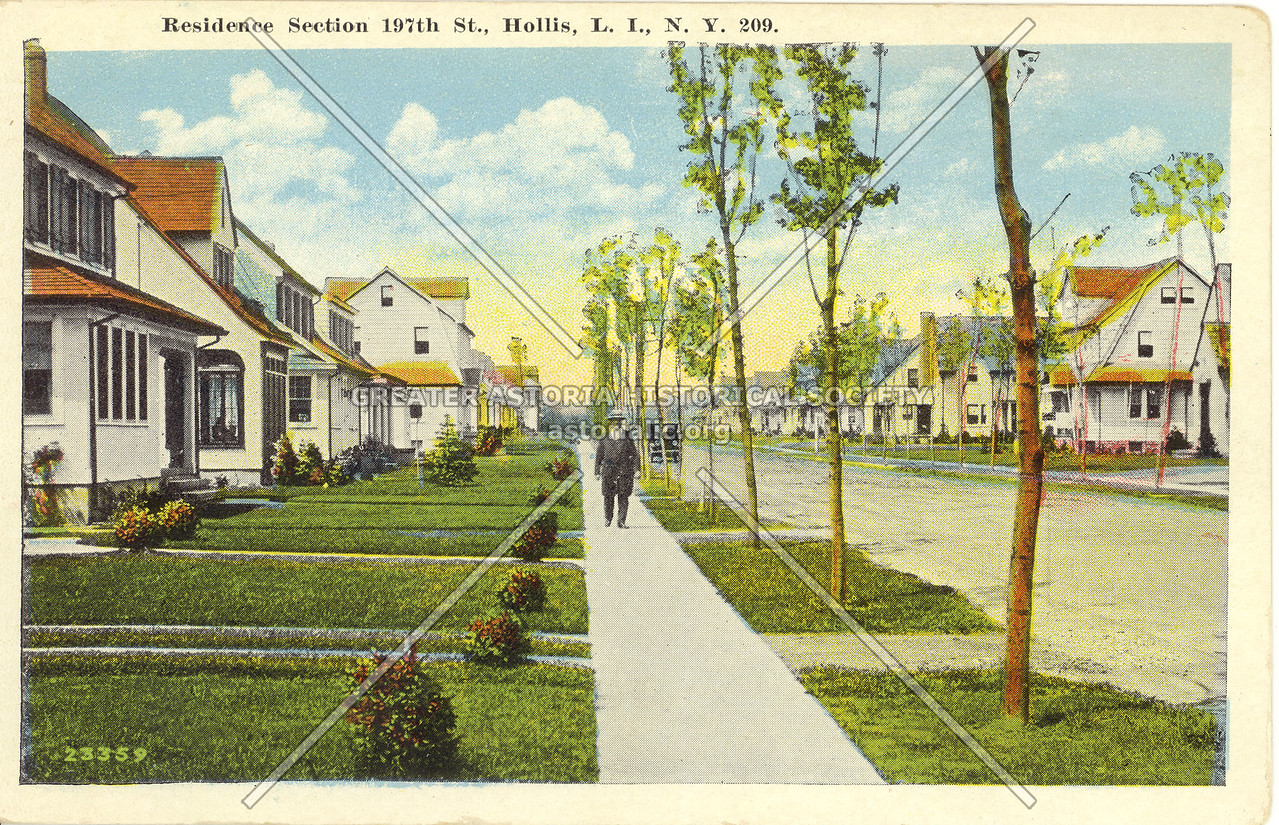 Residence Section 197th St., Hollis, L.I., N.Y.