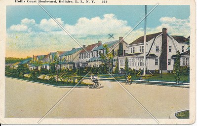 Hollis Court Boulevard, Bellaire, L.I., N.Y.