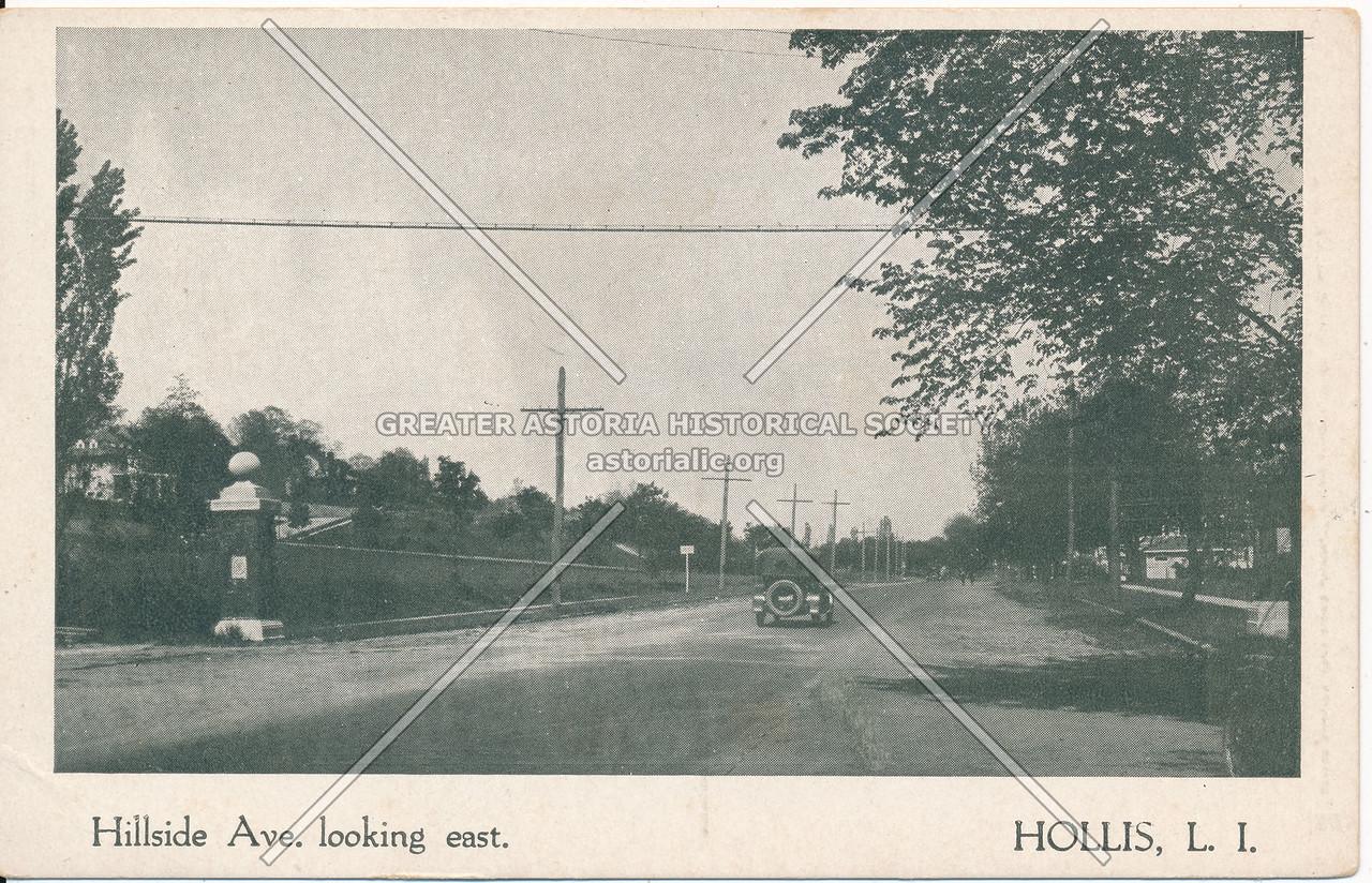 Hillside Ave. looking east Hollis, L.I.