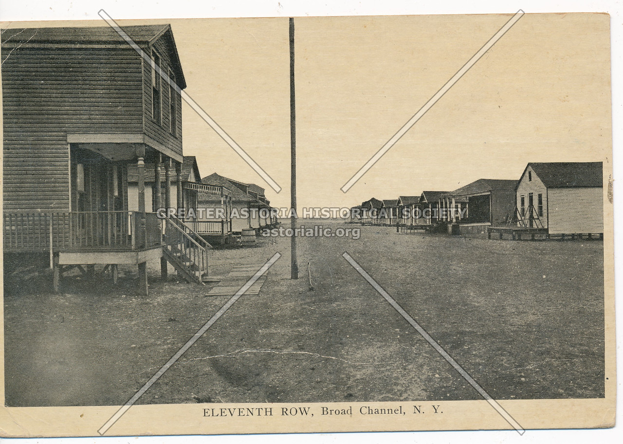 Eleventh Row, Broad Channel, N.Y.