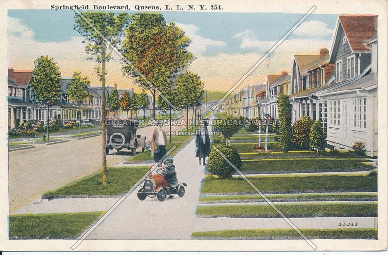 Springfield Boulevard, Queens, L.I., N.Y.
