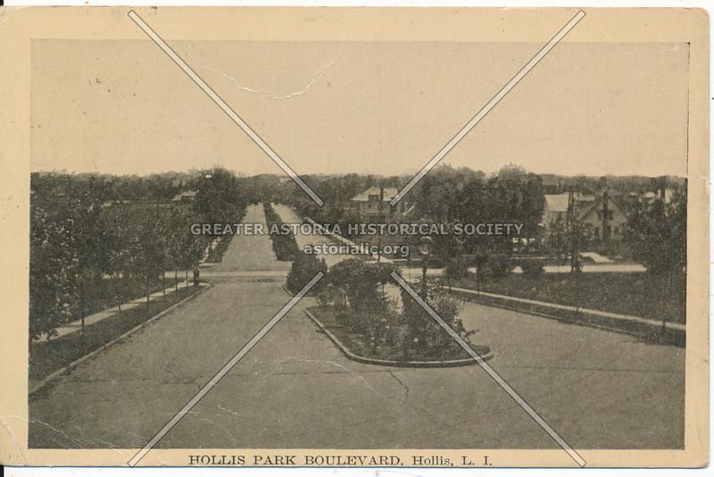 Hollis Park Boulevard, Hollis, L.I.