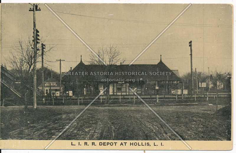 L.I.R.R Depot at Hollis, L.I.