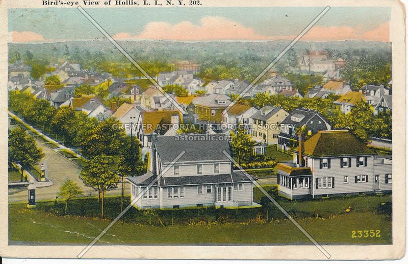 Bird's-eye View of Hollis, L.I., N.Y.