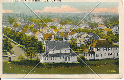 Bird's-eye View of Hollis, L.I., N.Y.