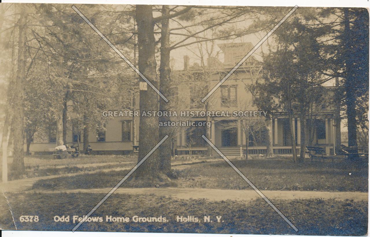 Odd Fellows Home Grounds, Hollis, N.Y.