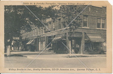 "216th St. & Jericho Turnpike, ""Queens Village Homes"""