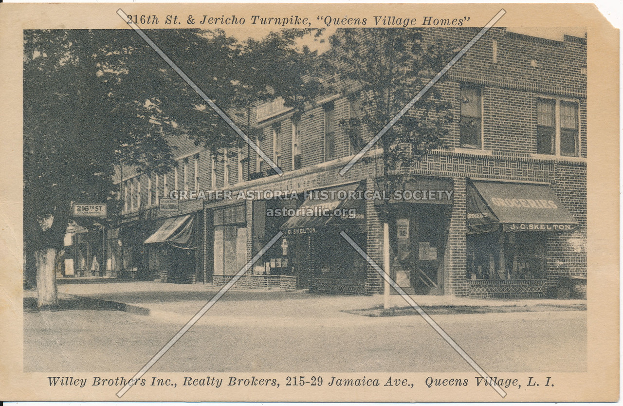 """216th St. & Jericho Turnpike, """"Queens Village Homes"""""""