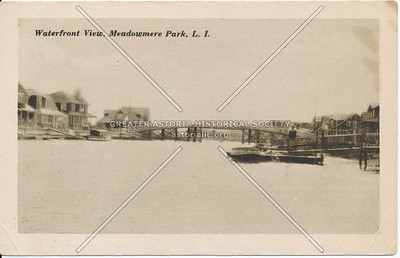 Waterfront View, Meadowmere Park, L.I.
