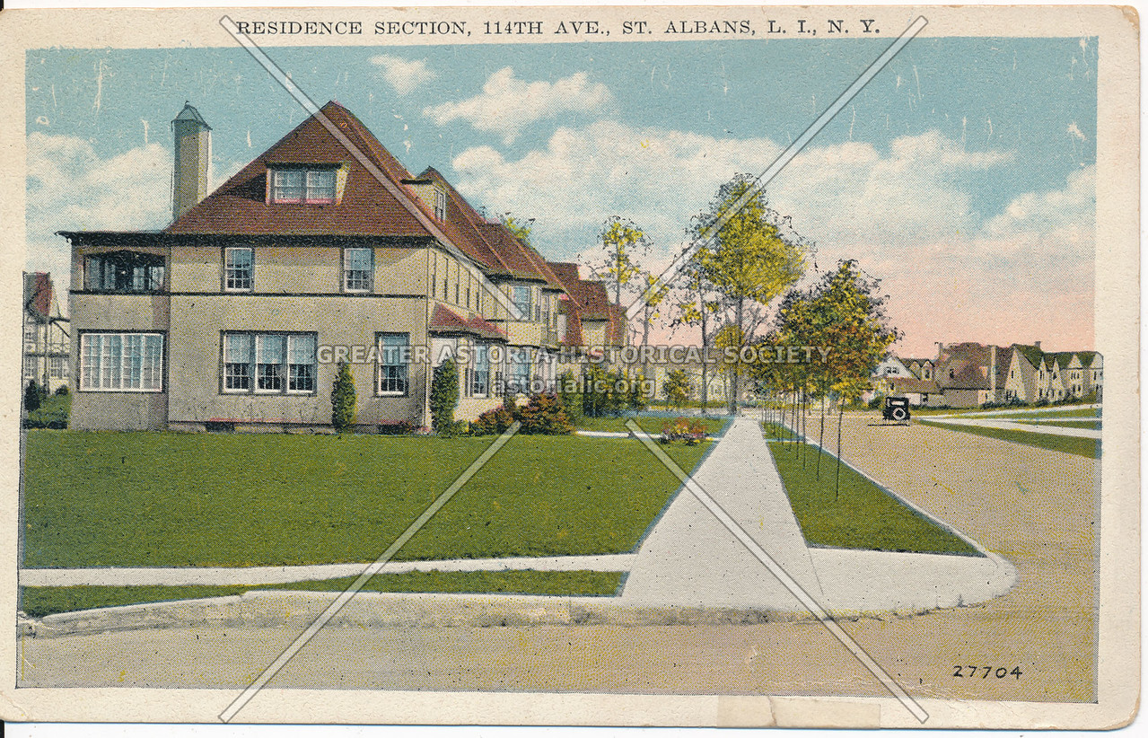 Residence Section, 114th Ave., St. Albans, L.I., N.Y.