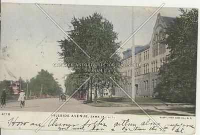 Jamaica High School, Hillside Avenue, Jamaica, L.I., N.Y.