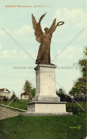Soldiers' Monument, Hillside Ave at Merrick Blvd., Jamaica, L.I.